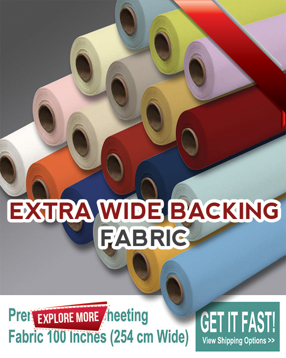 Extra Wide Backing Fabrics