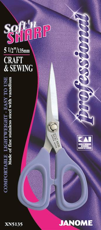 """Janome 5.5"""" Craft And Sewing Scissor"""