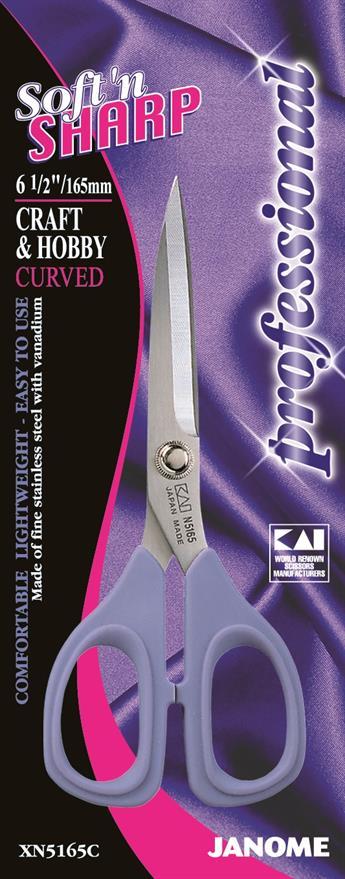 "Janome 6.5"" Curved Scissors"