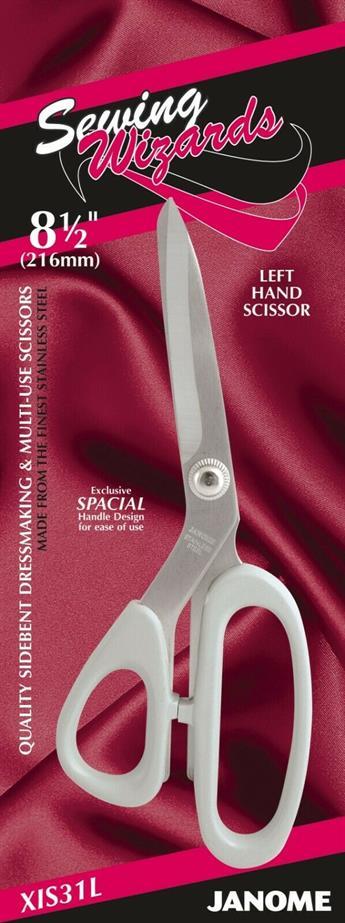 "Janome 8.5"" Left Handed Dressmakin Scissor"