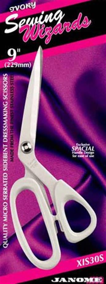 "Janome 9"" Sidebent Dressmaking Scissor"