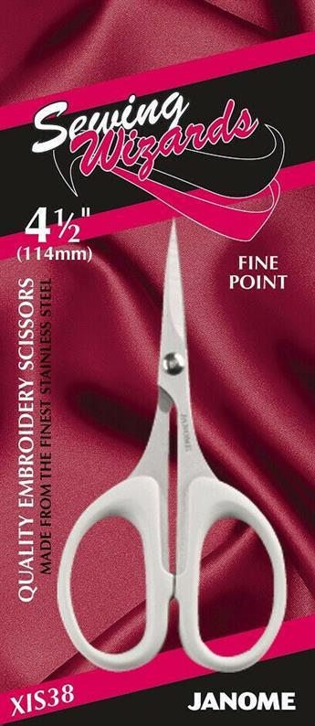 "Janome 4.5"" Embroidery Scissor"