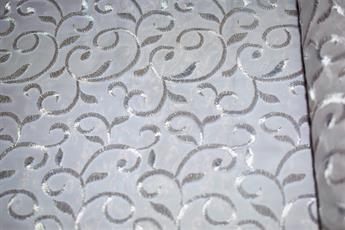 Organza Fabric with Embroidery
