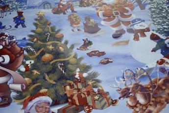 Christmas Pvc TableCloth