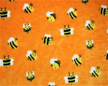 Bees Cuddle Fleece