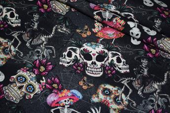 Skulls Day of the Dead Halloween Crafty