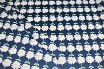 NAVY VEGETABLE PATCH DAISIES