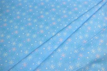 WINTER WARMERS/BLUE - SNOW FLAKE
