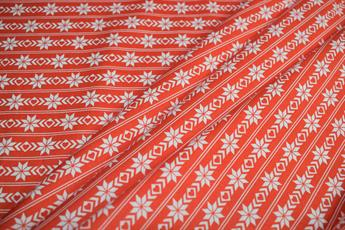 NORDIC CHRISTMAS - RED -BORDER