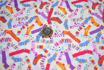 Socks Print Cotton