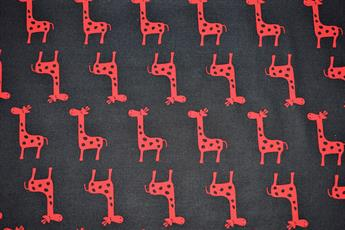 Giraffe Print 100% Cotton
