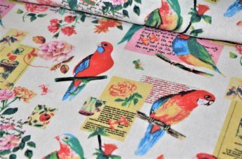 Parrot Printed Design
