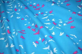 Flying birds Cotton