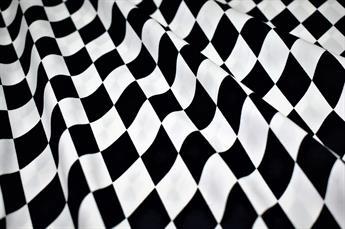 Geometry Print Cotton