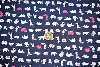 Wildlife Print Cotton