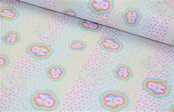 Little Johnny - Disney - Minnie Rainbow Spots - Cotton