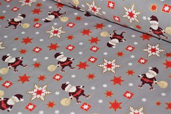 100% Cotton Fesival Santa