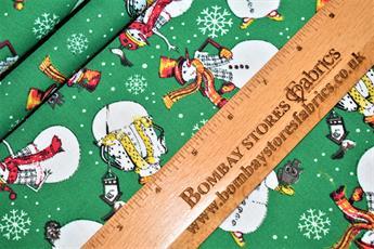 Christmas Snowman Snowflake