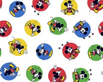 Little Johnny - Disney - Mickey Stickers - Cotton