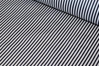 Thin Striped PolyCotton