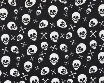 Halloween Skull and Crossbone