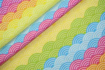 Rainbow Arches Polycotton