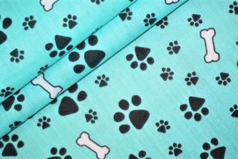Paws and Bones Polycotton
