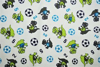 Dino Football Winceyette