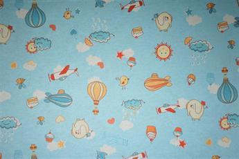 Air Balloon Plane Winceyette