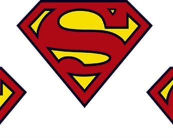 Little Johnny - Superman Classic Badge Cotton