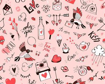 Little Johnny - Doodle Love Digital Cotton