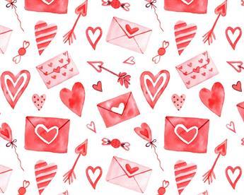 Little Johnny - Love Letters Digital Cotton