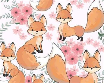 Little Johnny - Cute Baby Fox Cotton