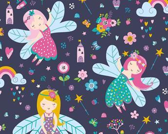 Little Johnny - Dancing Fairies Cotton