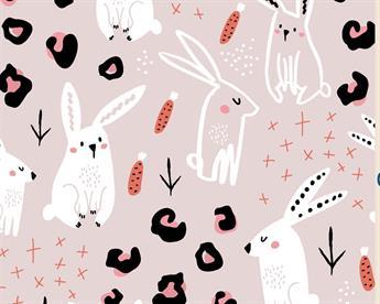 Little Johnny - Rabbit Doodle Cotton