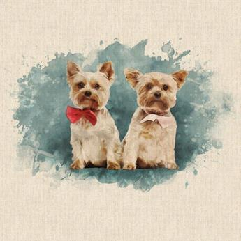 2 Contonese Dogs Panels