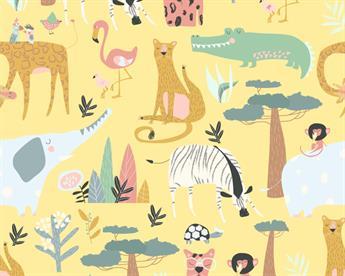 Little Johnny - Wild Animals Cotton