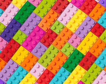 Little Johnny - Rainbow Building Blocks Cotton
