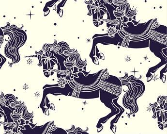 Little Johnny - Carousel Horses Cotton