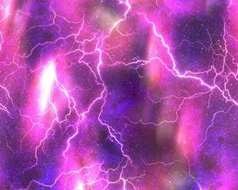 Little Johnny - Aurora Lightning Bolts Cotton