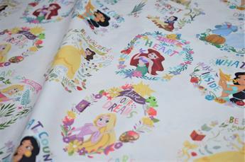 Little Johnny - Disney - Princess Dreams - Cotton