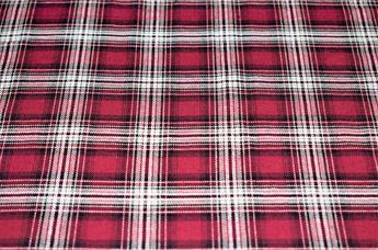 Herringbone Tatan Check Print