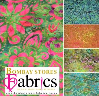 Printed Batik Fat Quarter Bundle