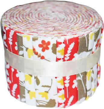 HERITAGE FLORAL - MINI JELLY ROLL