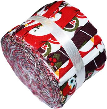 CHRISTMAS CHARACTERS - MINI JELLY ROLL