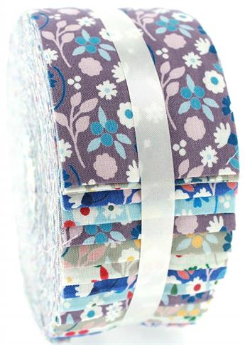 FLORAL BLENDERS LARGE JELLY ROLL
