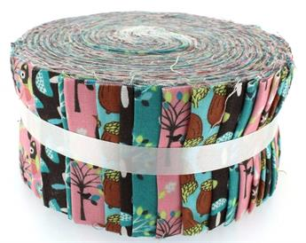 WOODLAND ANIMALS LARGE JELLY ROLL