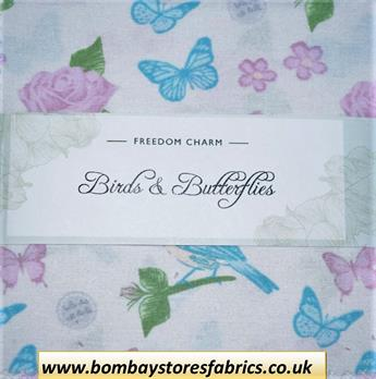 BIRDS & BUTTERFLIES CHARM PACK