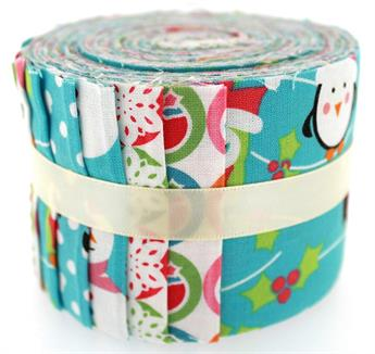 CHRISTMAS CHARACTERS - SMALL JELLY ROLL