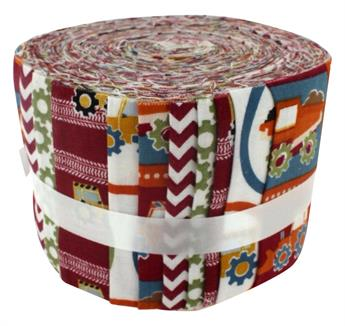 CONSTRUCTIONS RED SMALL JELLY ROLL
